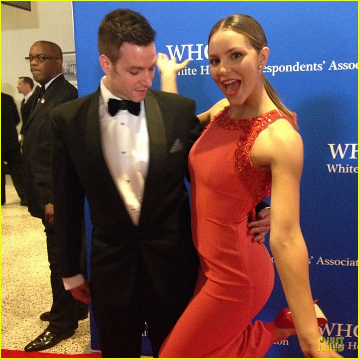 katharine mcphee white house correspondents dinner 2014 053104623