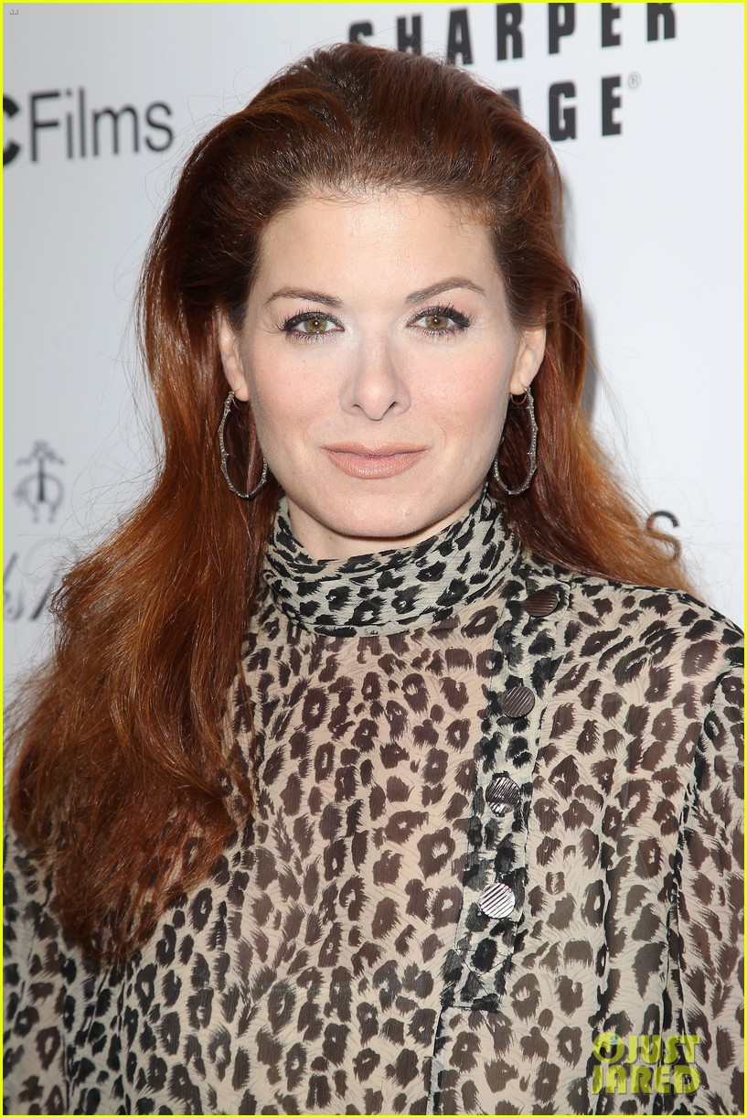 debra messing shows her support for philip seymour hoffman at gods pocket screening 123105533