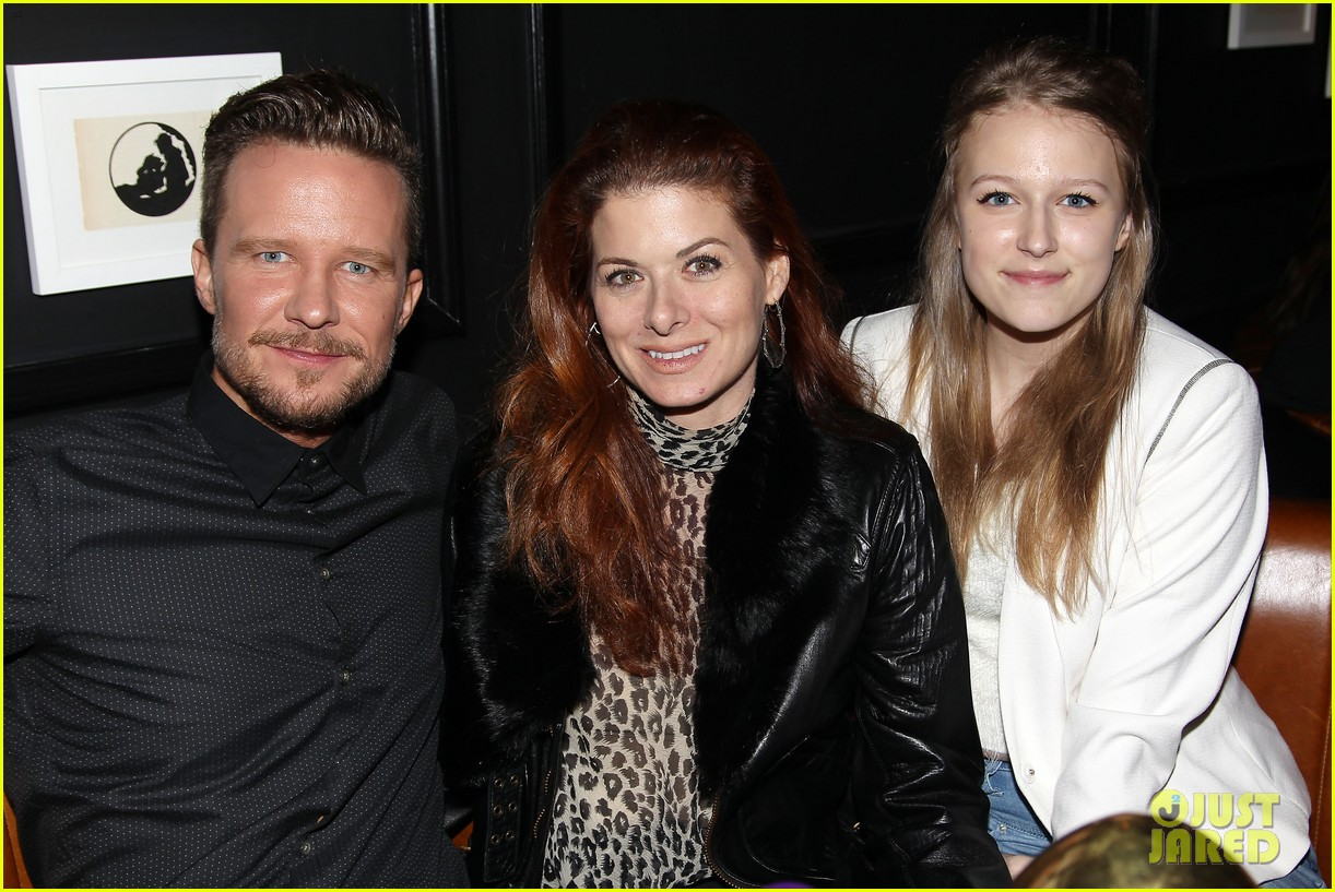 debra messing shows her support for philip seymour hoffman at gods pocket screening 213105542