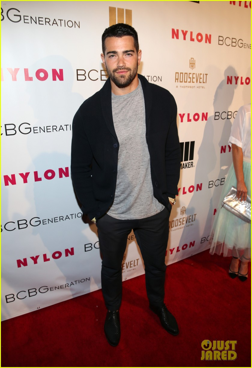 jesse metcalfe josh henderson bring the heat to the nylon party 083109517
