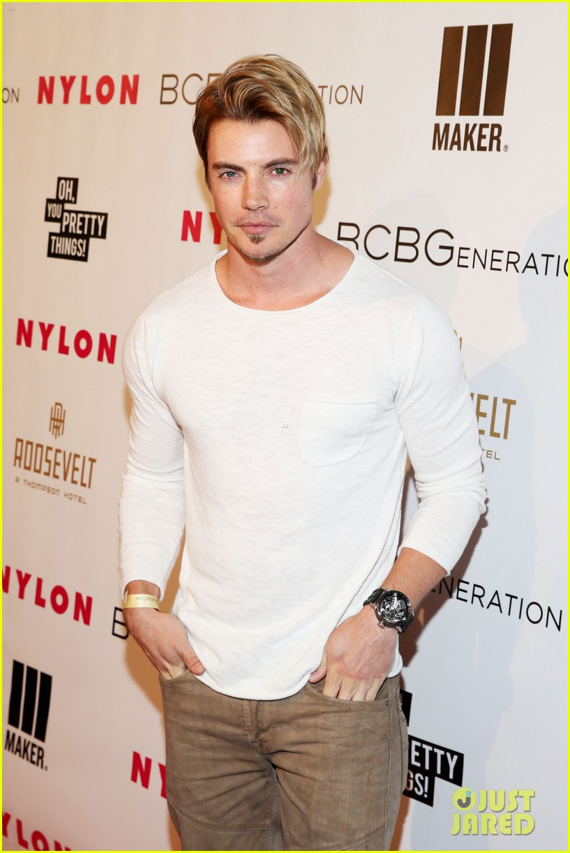 jesse metcalfe josh henderson bring the heat to the nylon party 103109519