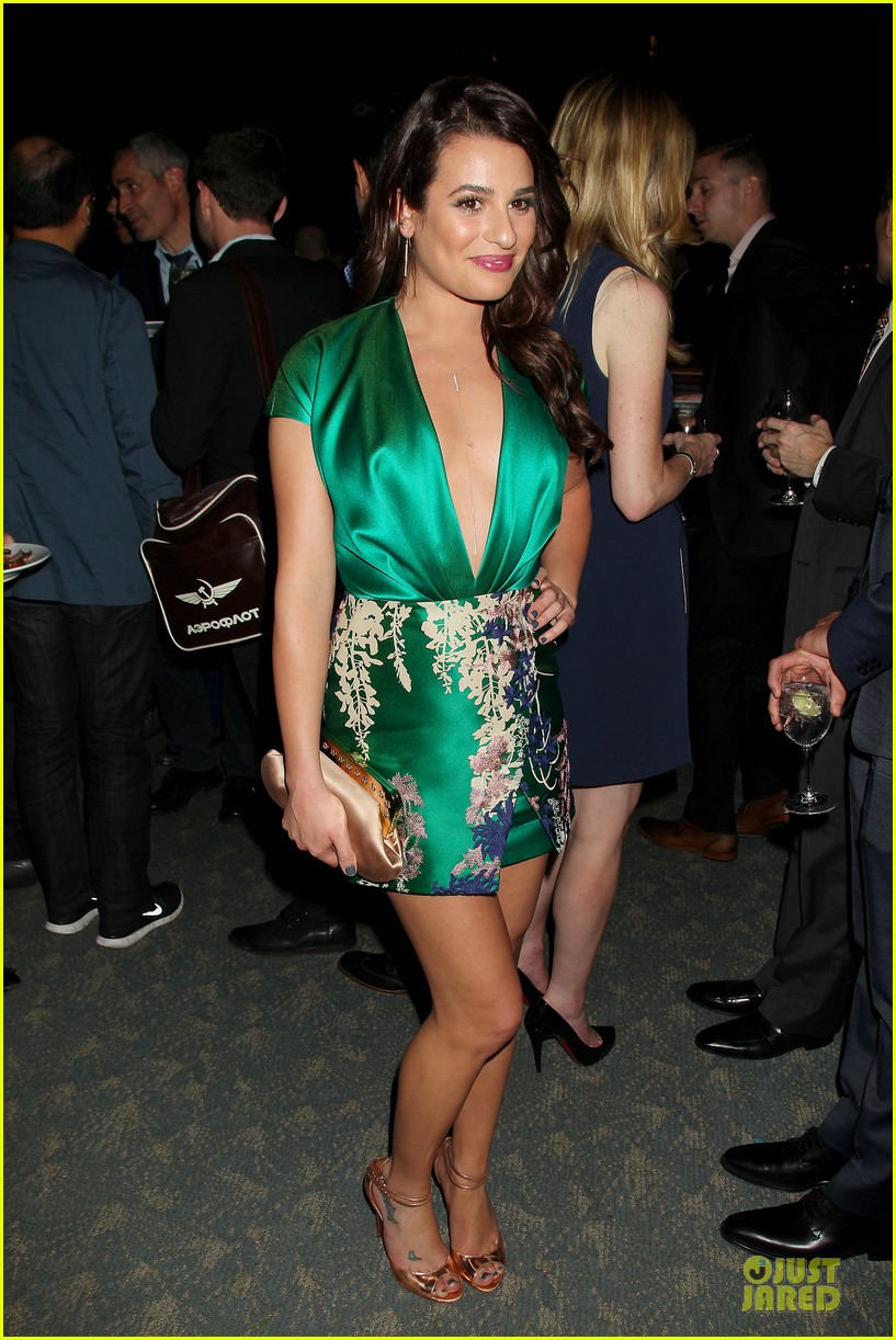 lea michele jonathan groff normal heart after party 013112271