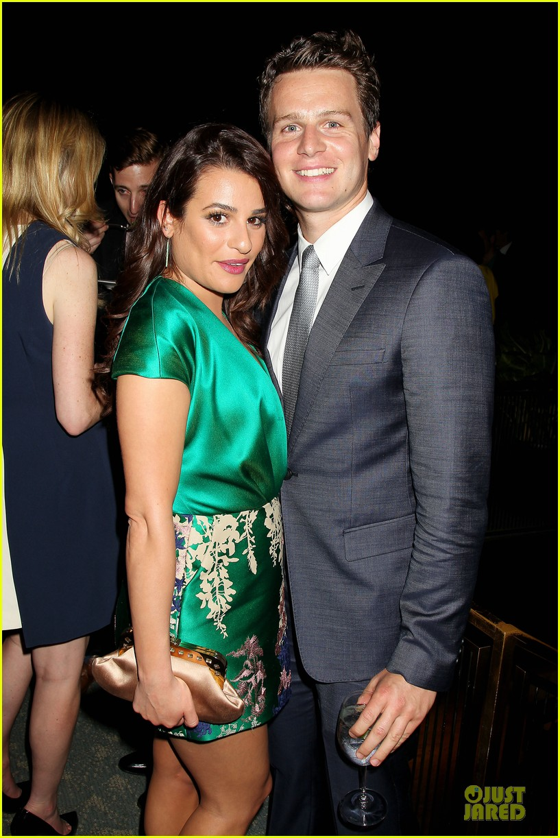lea michele jonathan groff normal heart after party 023112272
