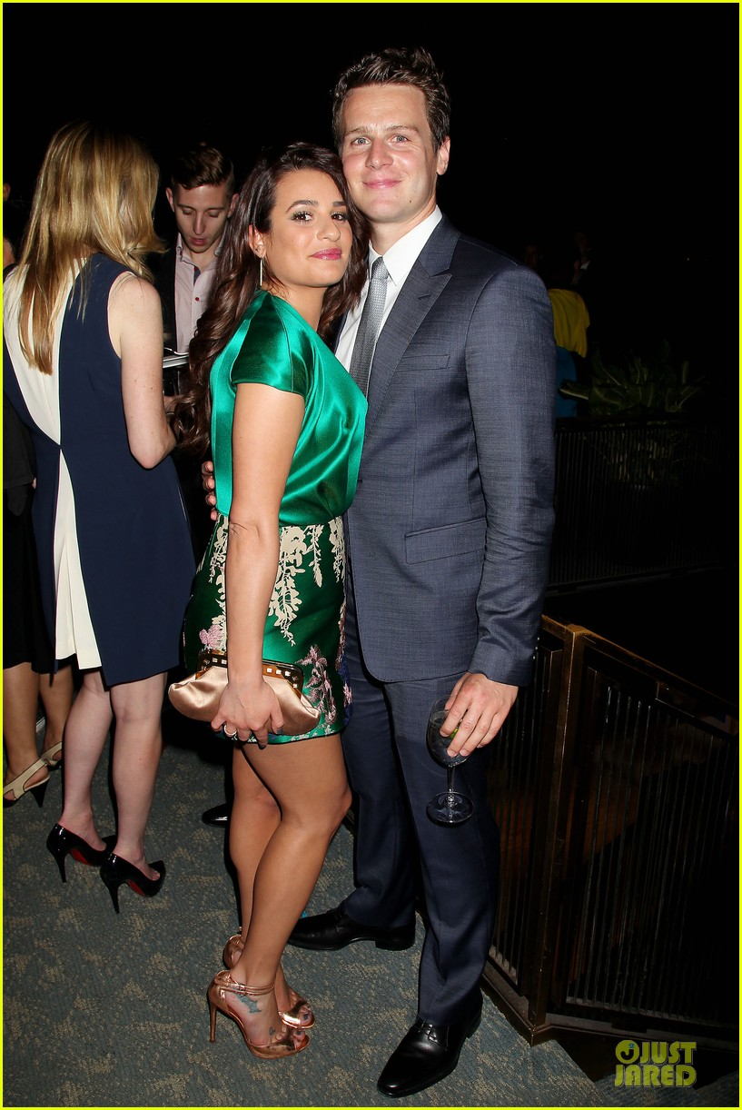 lea michele jonathan groff normal heart after party 033112273