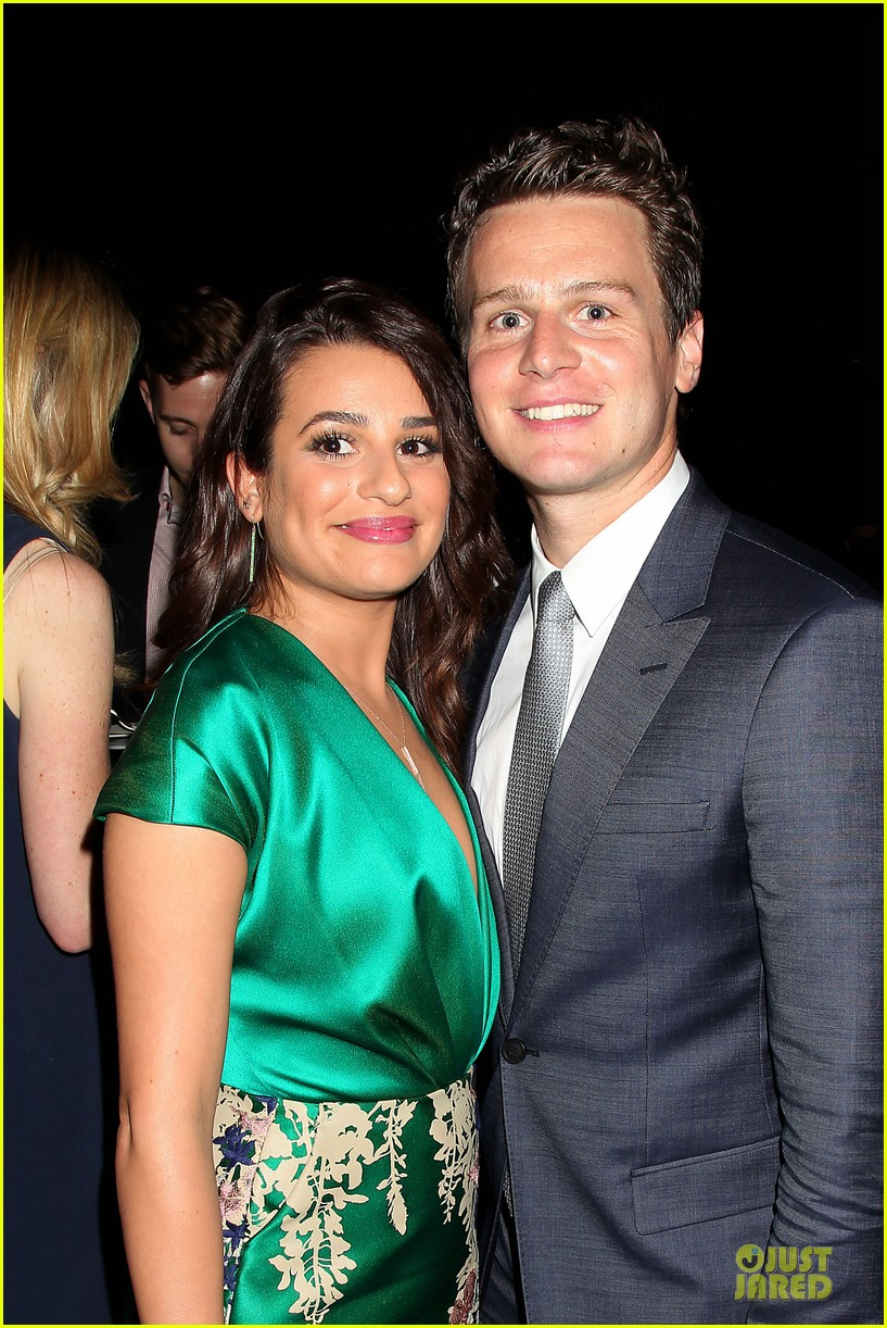 lea michele jonathan groff normal heart after party 073112277