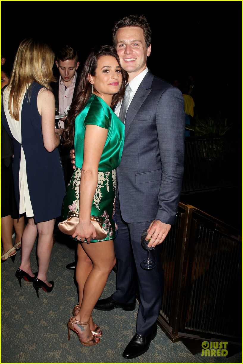 lea michele jonathan groff normal heart after party 083112278