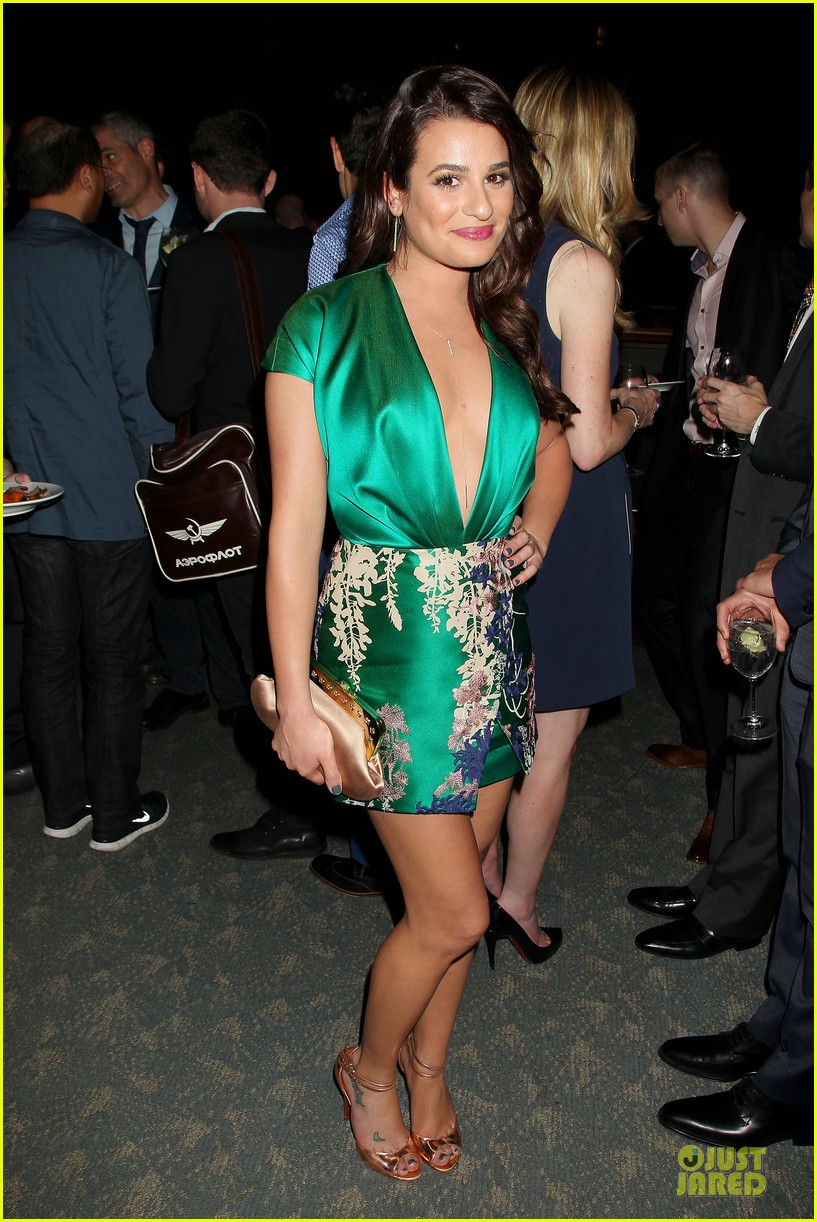 lea michele jonathan groff normal heart after party 093112279