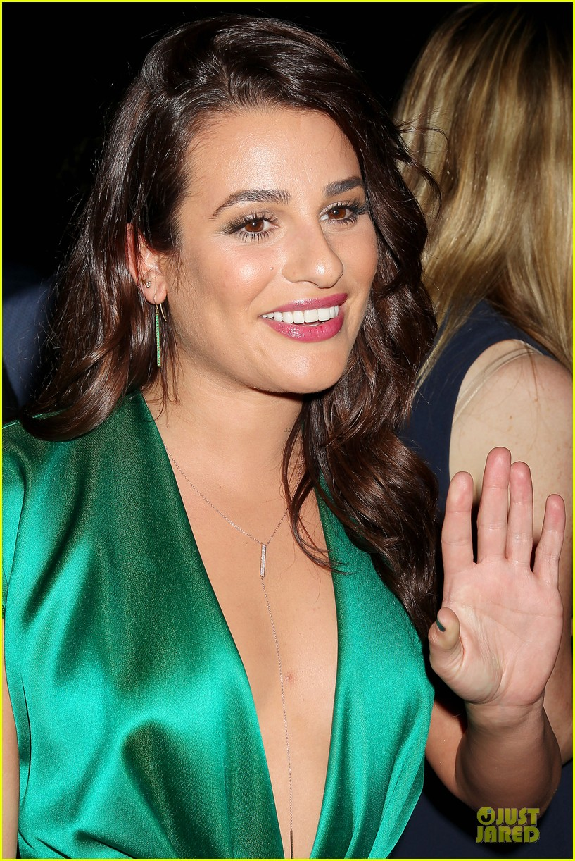 lea michele jonathan groff normal heart after party 113112281