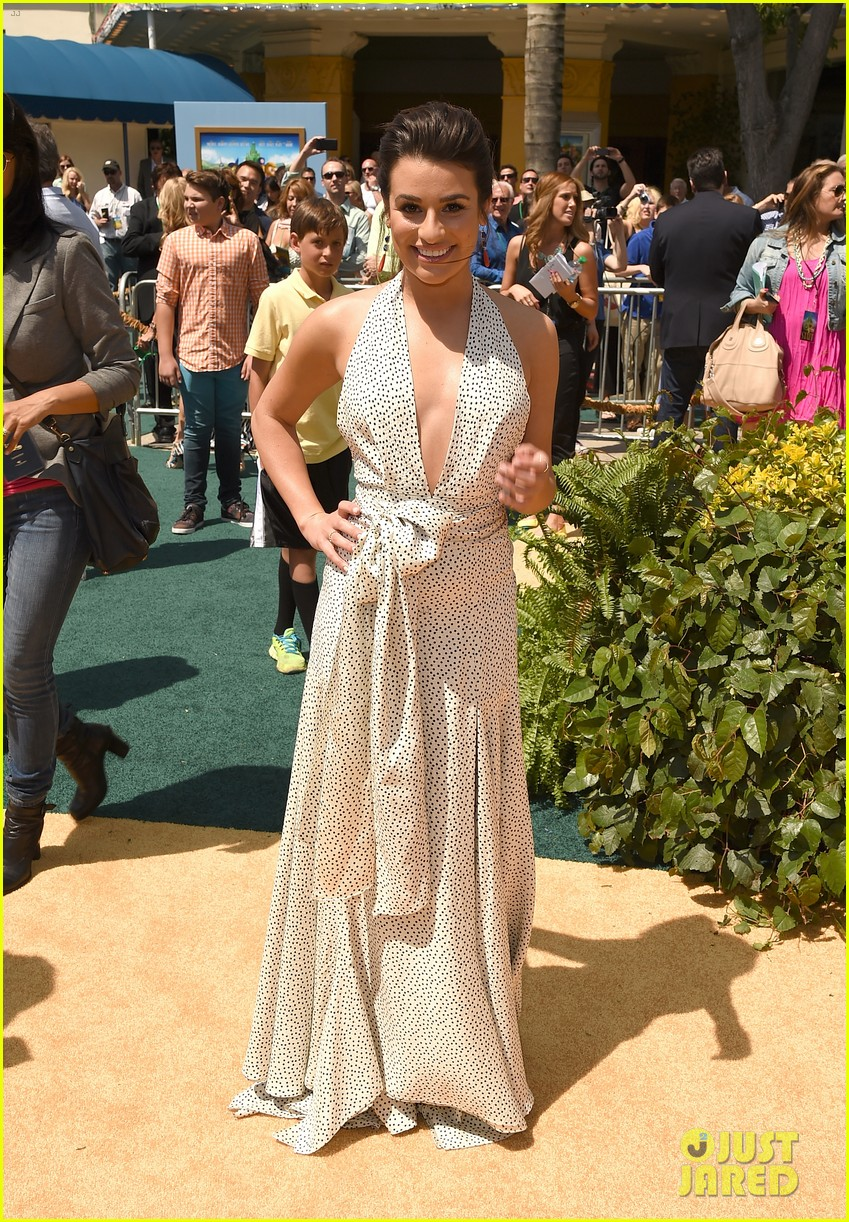 lea michele legends of oz premiere 13