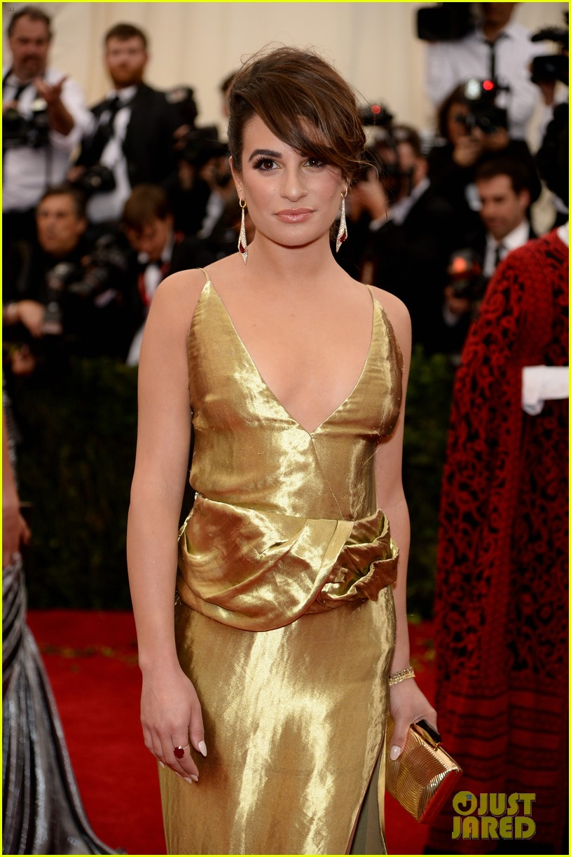 lea michele dianna agron met ball 2014 023106059