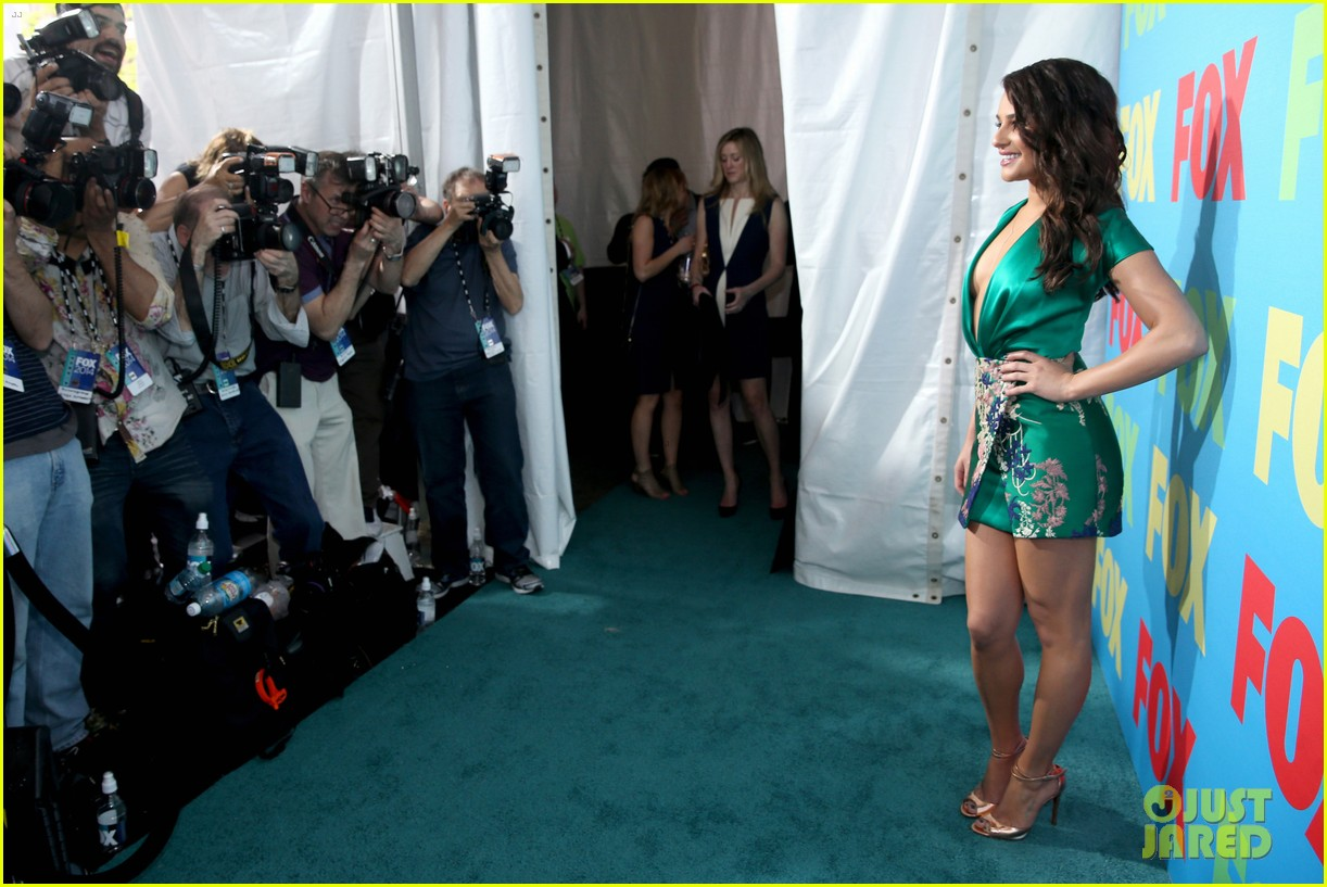 lea michele darren criss fox upfronts 2014 113111851