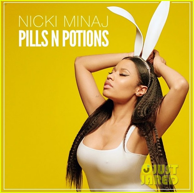 nicki minaj pills n potions single cover 033117336