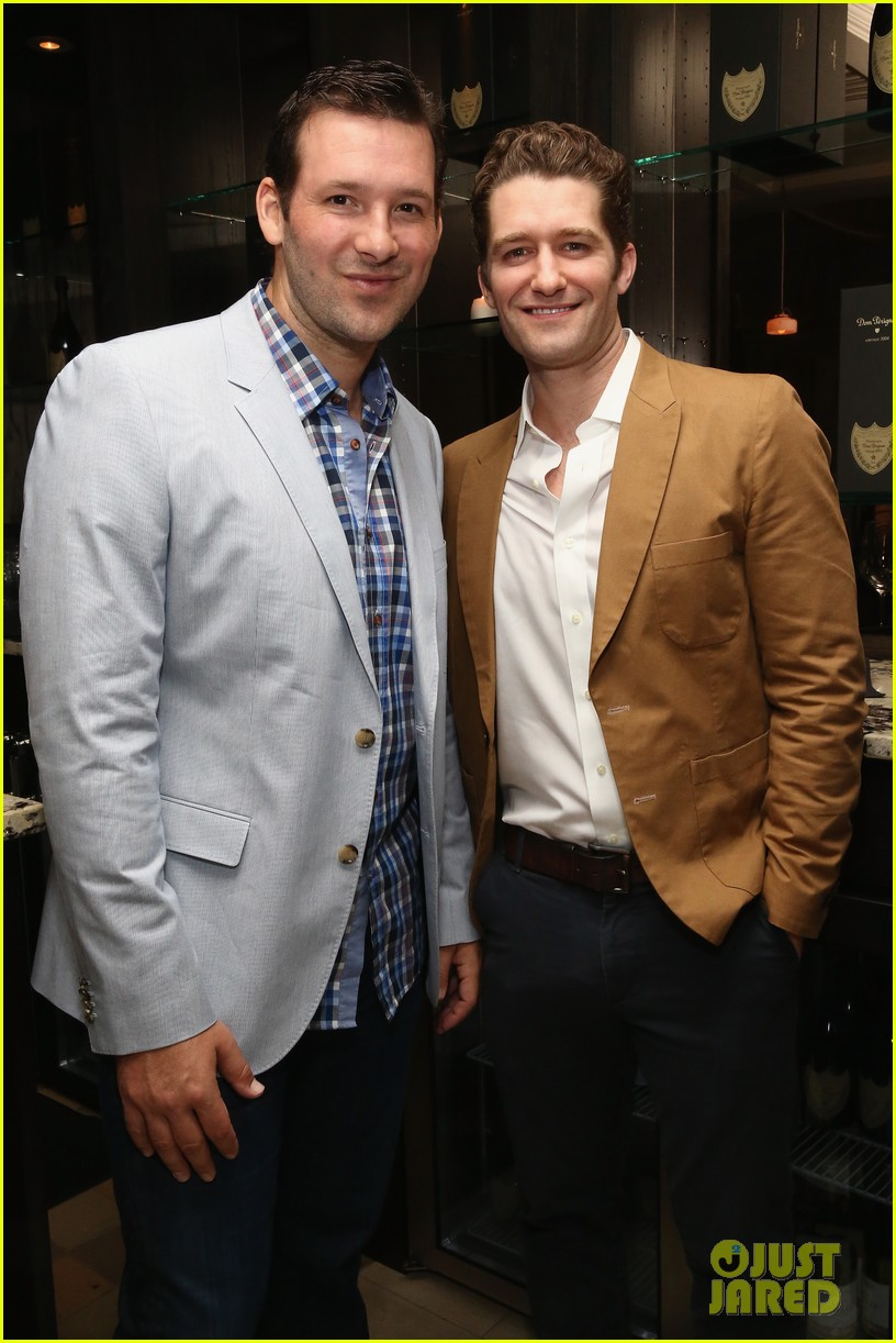 matthew morrison jeremy irvine eric podwall whcd weekend party 103104396