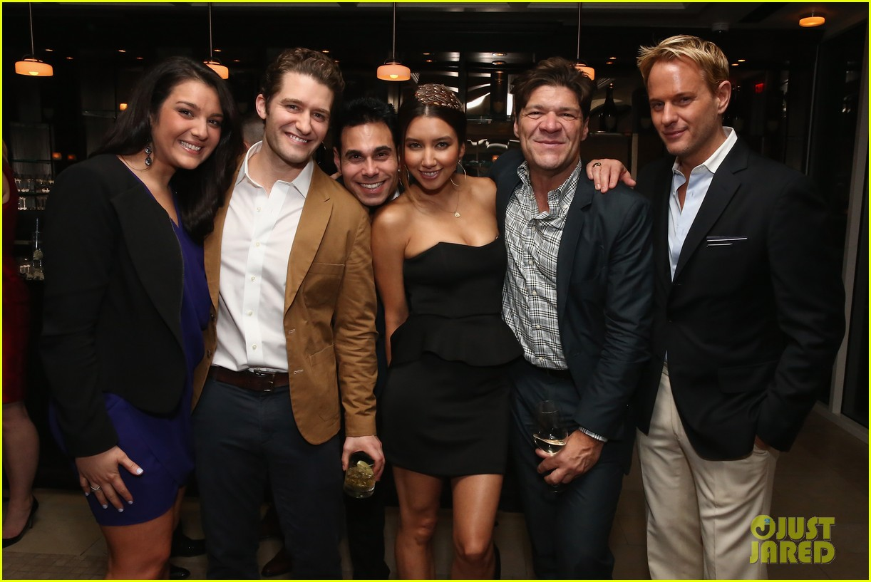 matthew morrison jeremy irvine eric podwall whcd weekend party 203104406