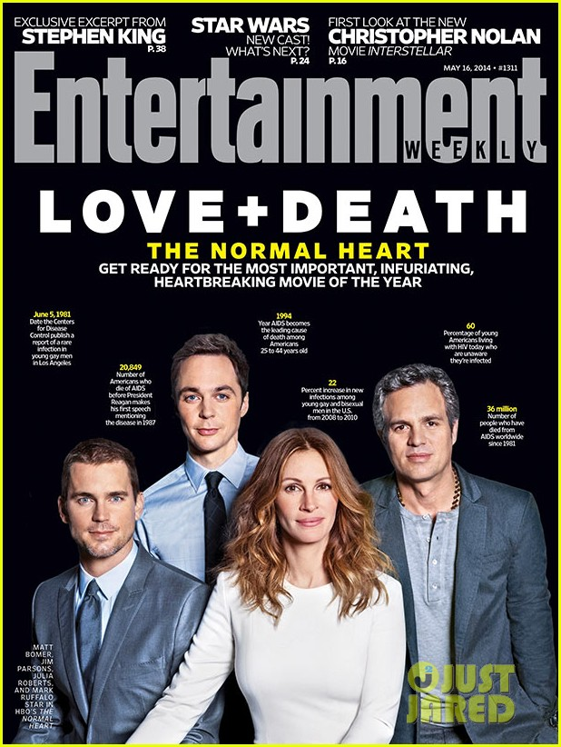 normal heart entertainment weekly cover 013108577
