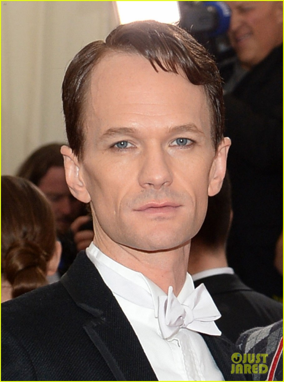 neil patrick harris david burtka met ball 2014 03