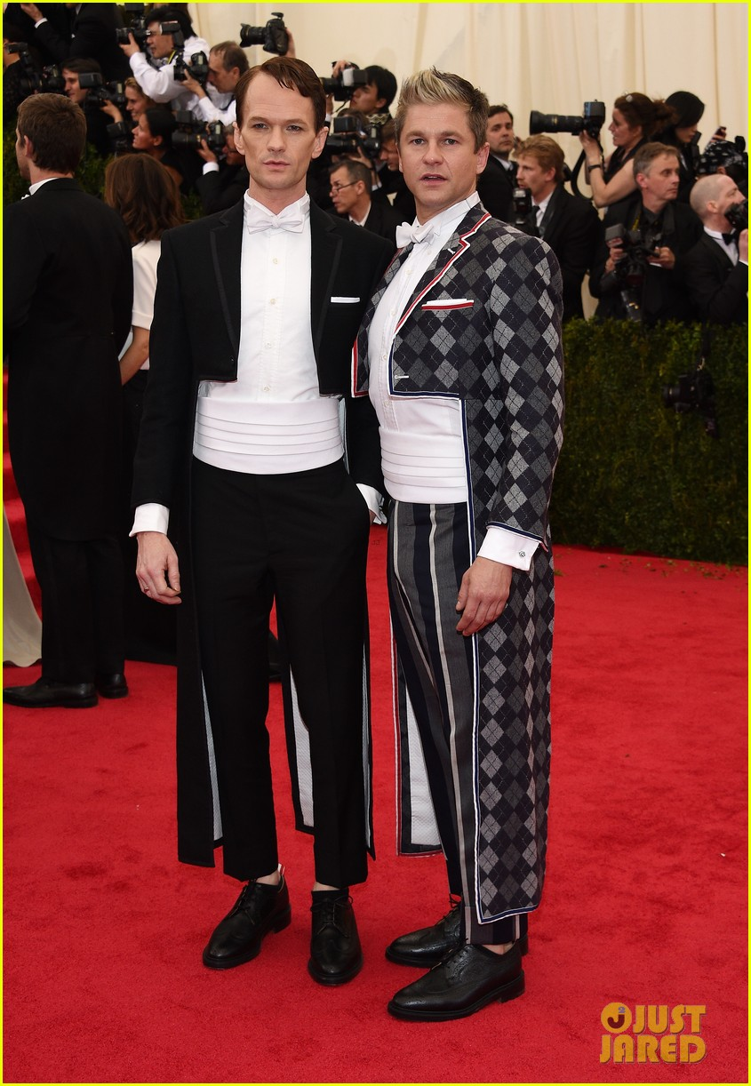 neil patrick harris david burtka met ball 2014 043106284