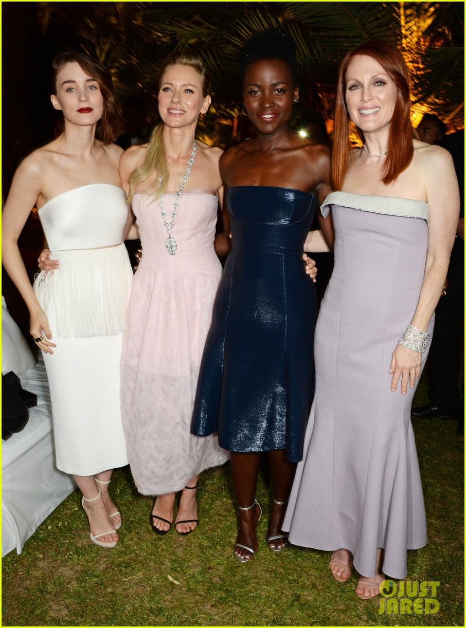 lupita nyongo rooney mara party with calvin klein at cannes 033114399