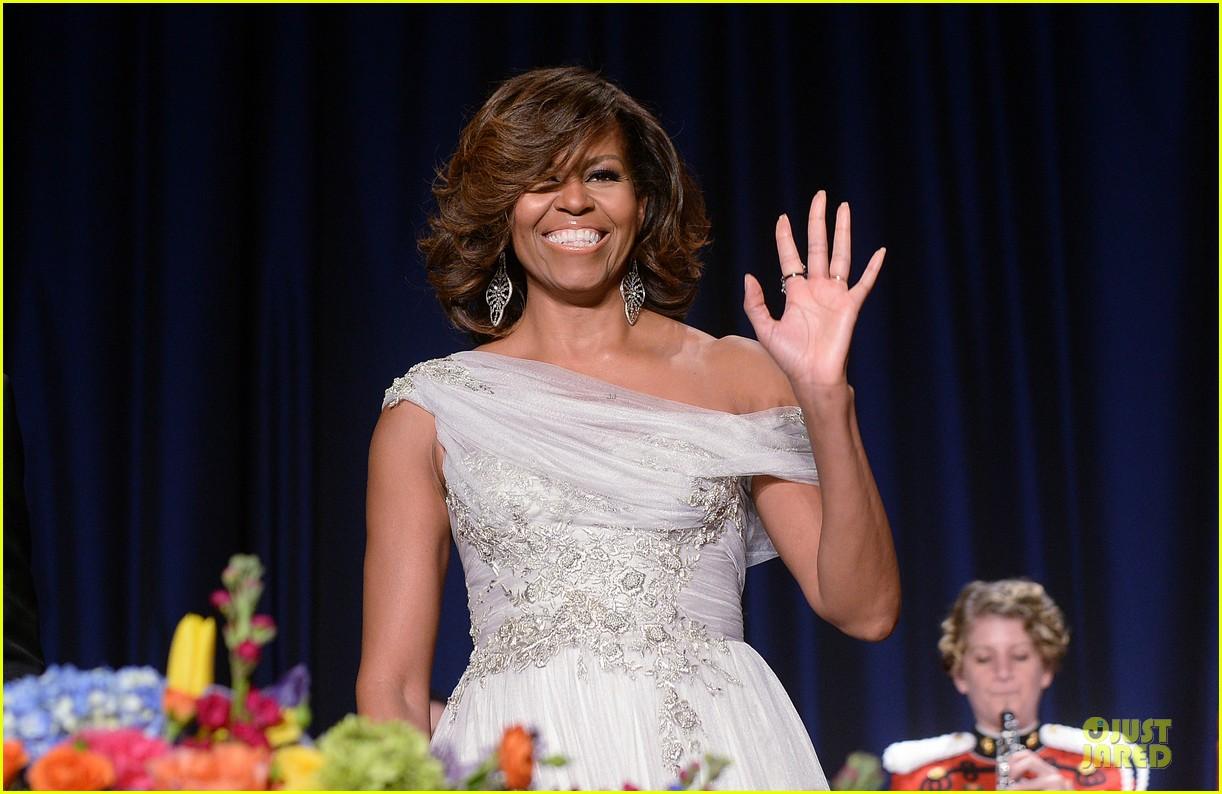 president obama shares jokes at white house correspondents dinner 2014 093104729