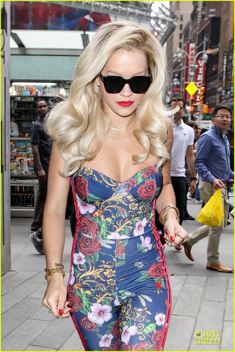 rita ora blooming floral statement in soho 023104826