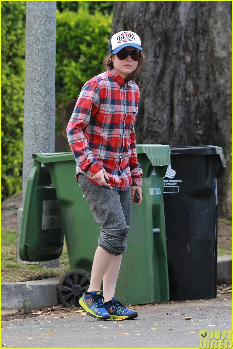 ellen page eats ikea takeout with justin bieber in her dreams043121020