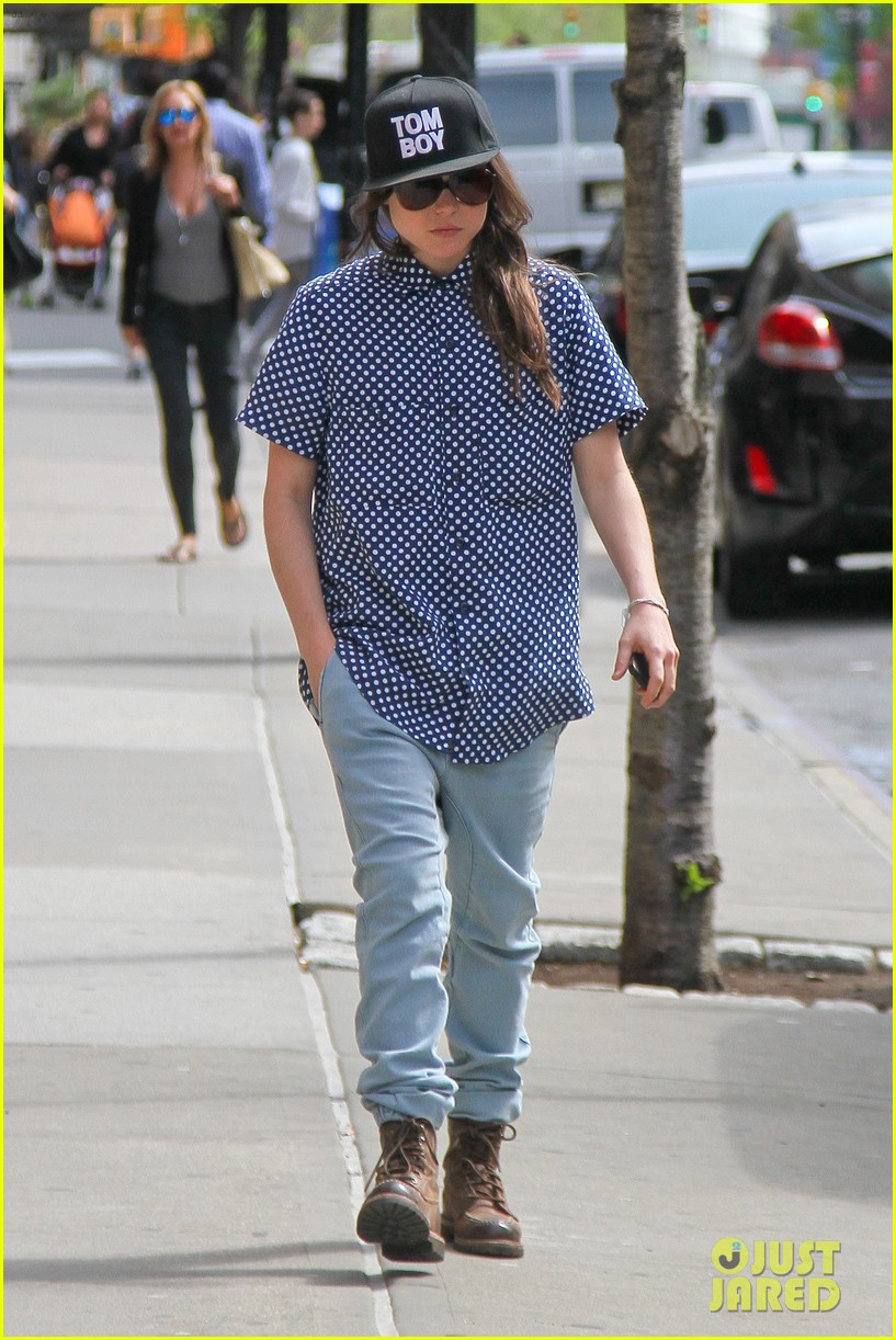 ellen page talks life after coming out 073108417