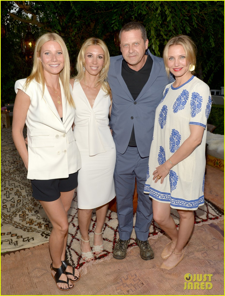 gwyneth paltrow cameron diaz show their support for vicky vlachonis 033114886