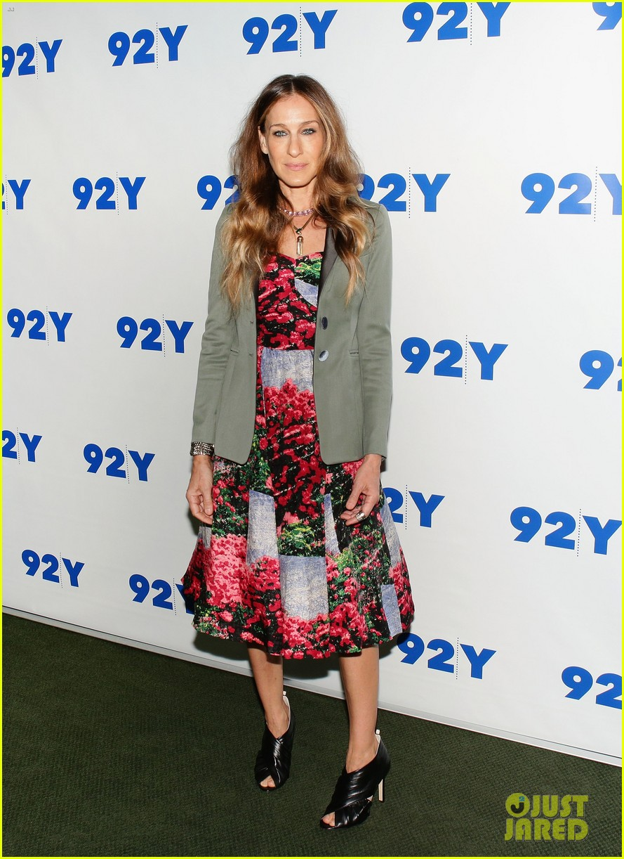 sarah jessica parker is spring ready for conversation with jonathan tisch 013114894