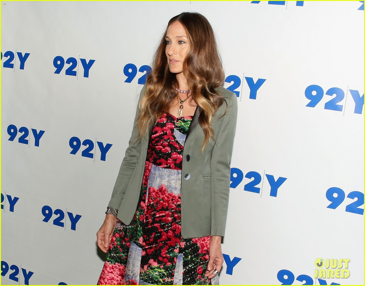 sarah jessica parker is spring ready for conversation with jonathan tisch 053114898