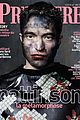robert pattinson all covered in paint for premiere magazine 01