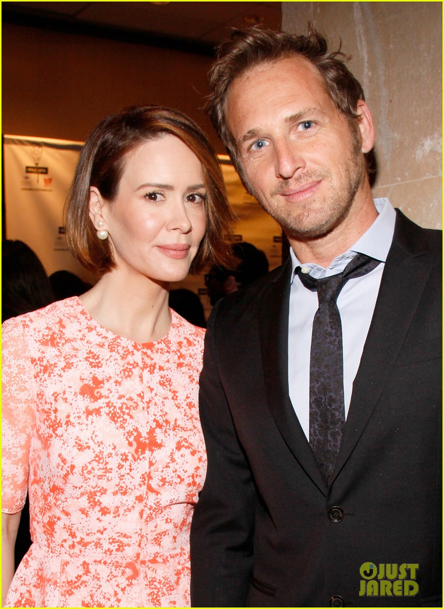 sarah paulson lily rabe present at lucille lortel awards 02