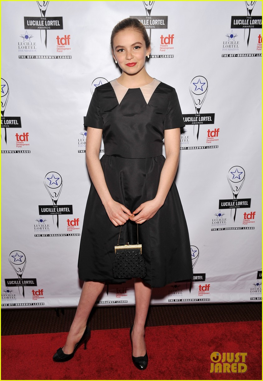 sarah paulson lily rabe present at lucille lortel awards 033105406