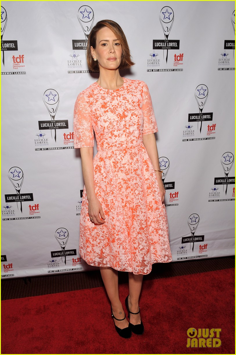 sarah paulson lily rabe present at lucille lortel awards 093105412
