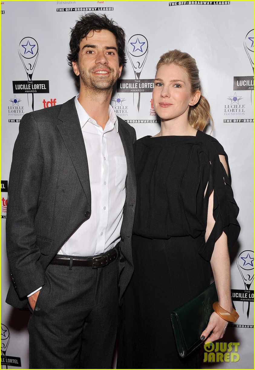 sarah paulson lily rabe present at lucille lortel awards 183105421
