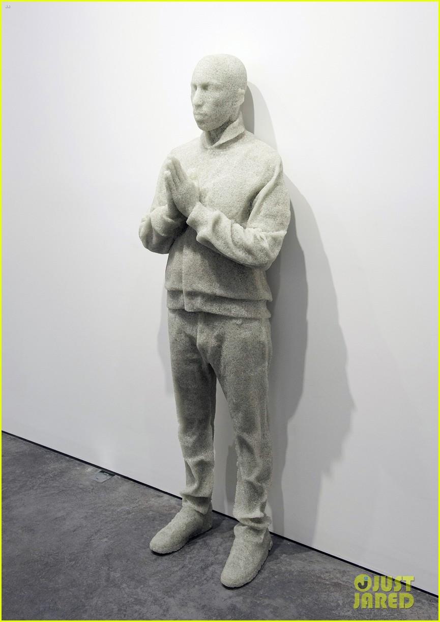 pharrell williams happy shirt paris art gallery opening 133122425