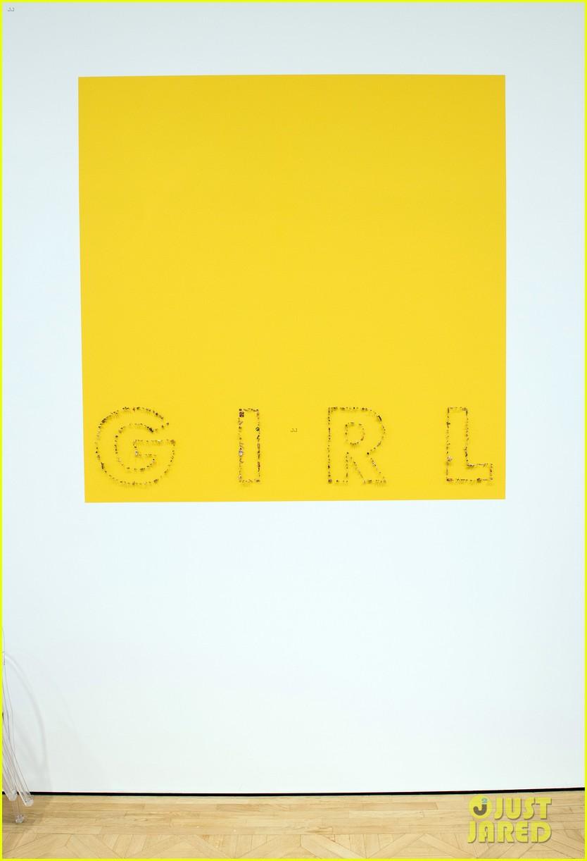 pharrell williams happy shirt paris art gallery opening 163122428