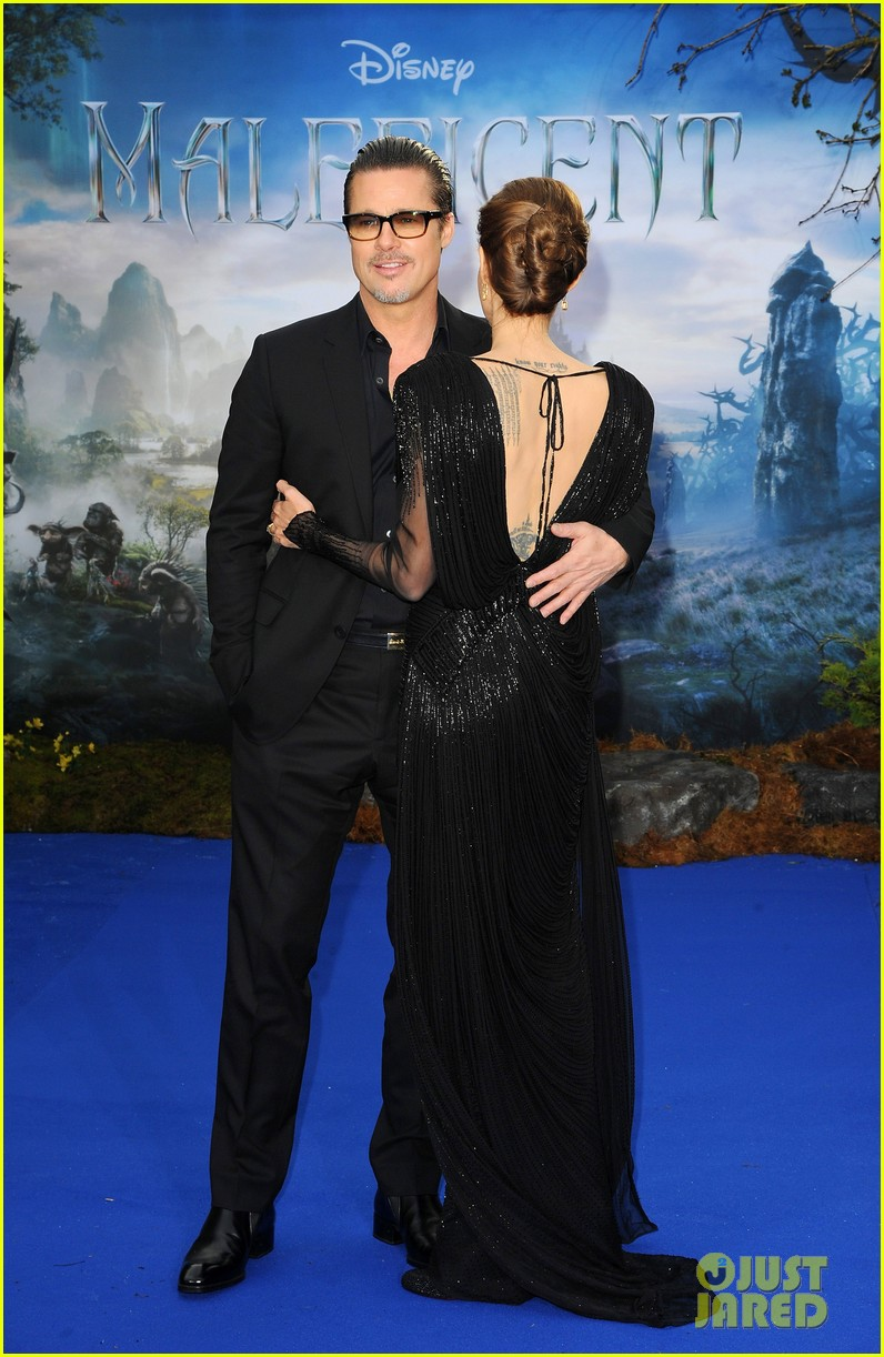 brad pitt angelina jolie maleficent london 02