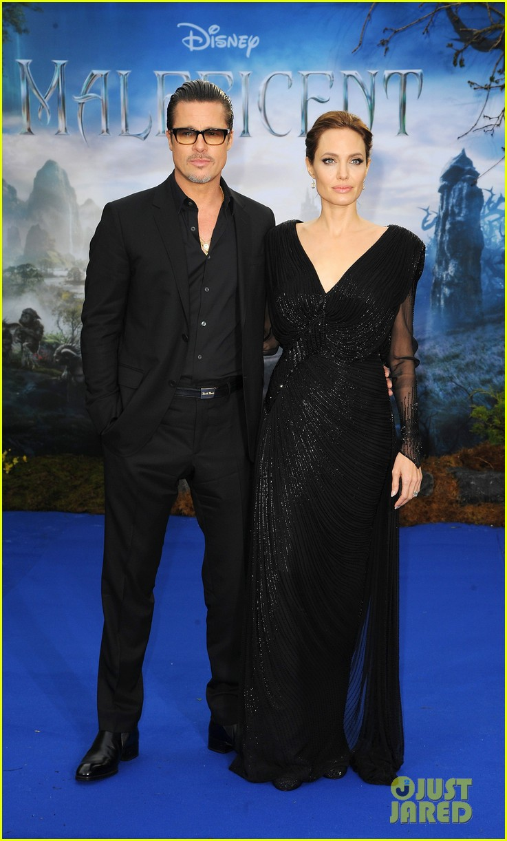 brad pitt angelina jolie maleficent london 033108713