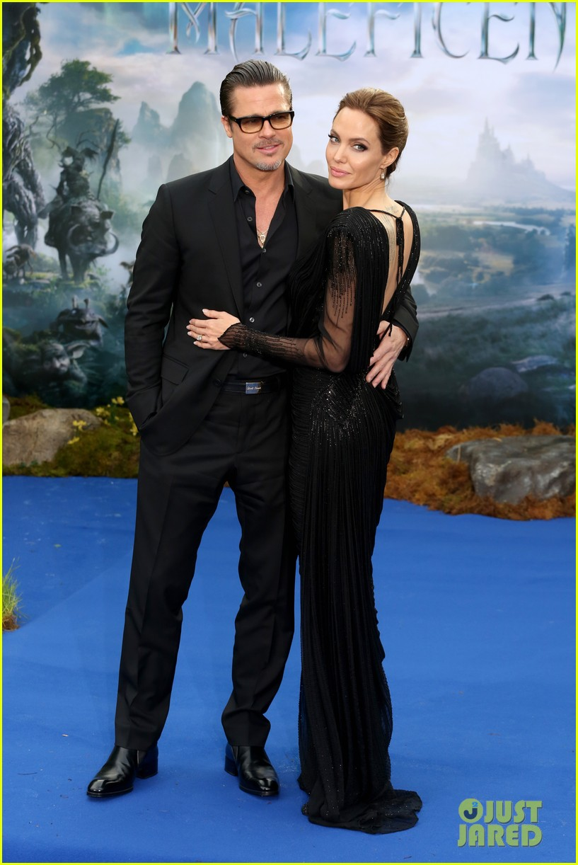 brad pitt angelina jolie maleficent london 10
