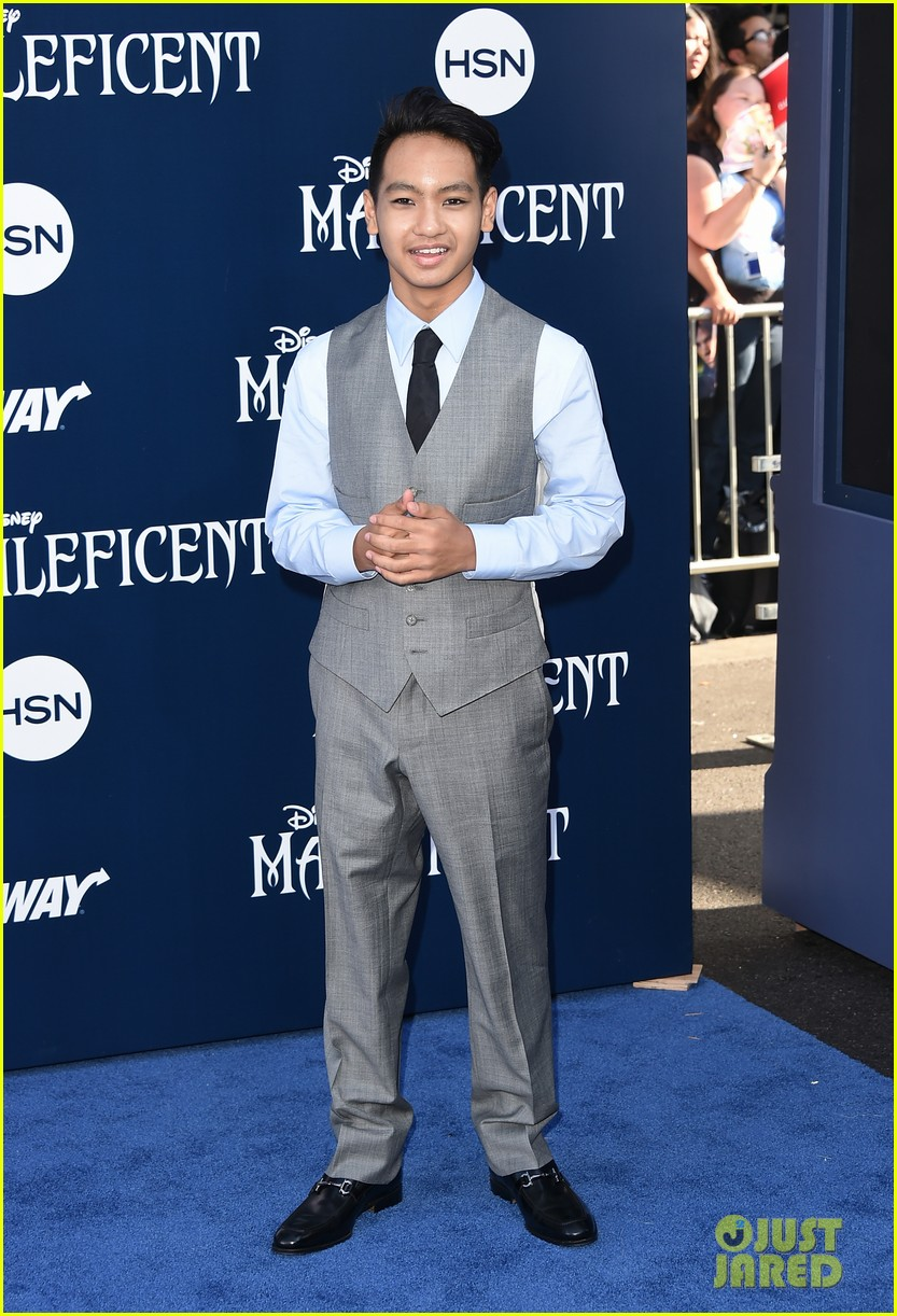 maddox jolie pitt looks so dapper in his suit at maleficent premiere 033123906