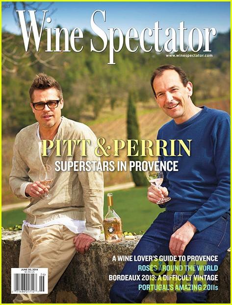 brad pitt covers wine spectator mag 023124742