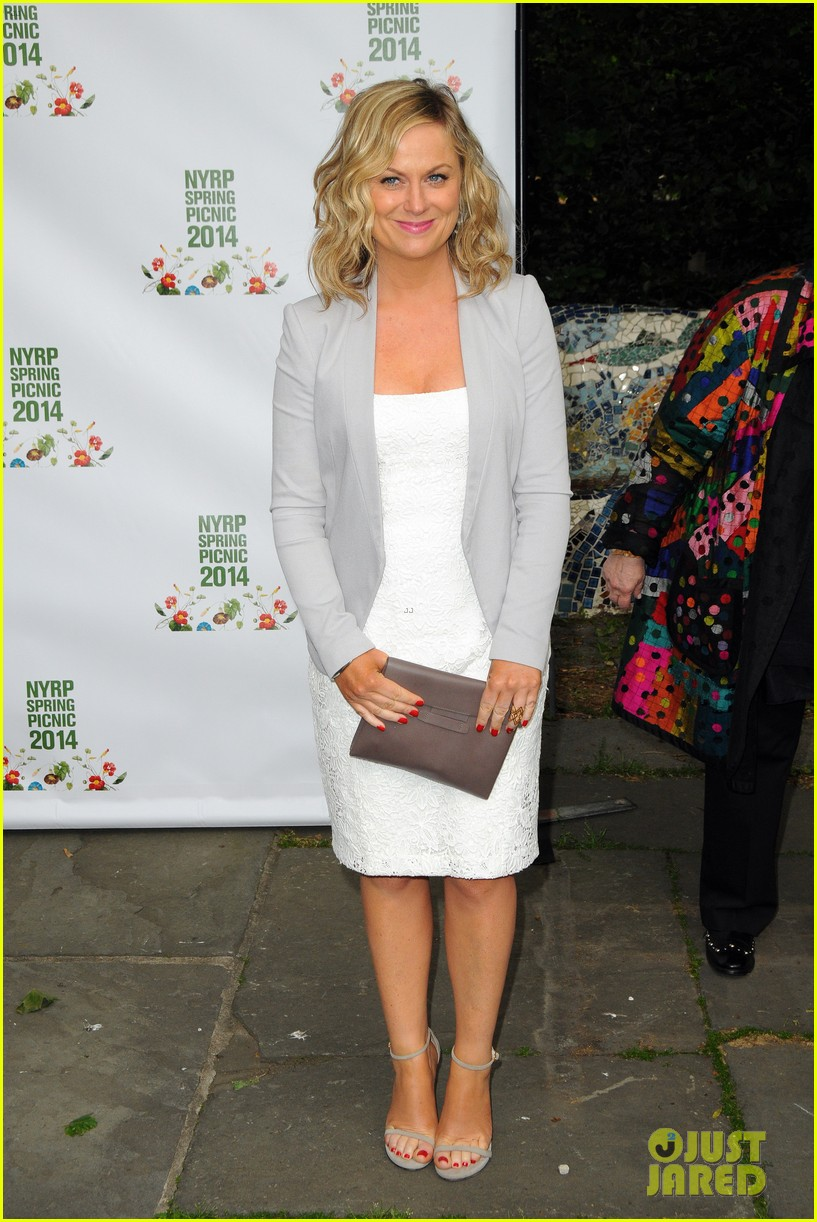 amy poehler drops by bette midler annual spring picnic 013124499