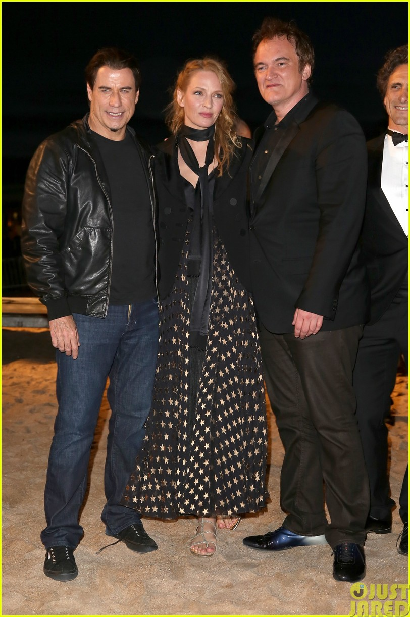 uma thurman john travolta and quentin tarantino reunite for pulp fiction screening at cannes033120828