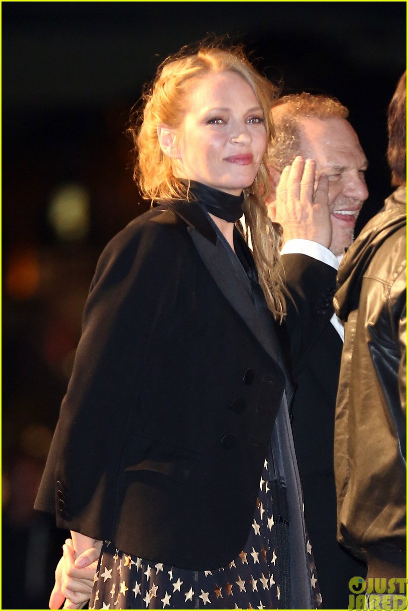 uma thurman john travolta and quentin tarantino reunite for pulp fiction screening at cannes043120829