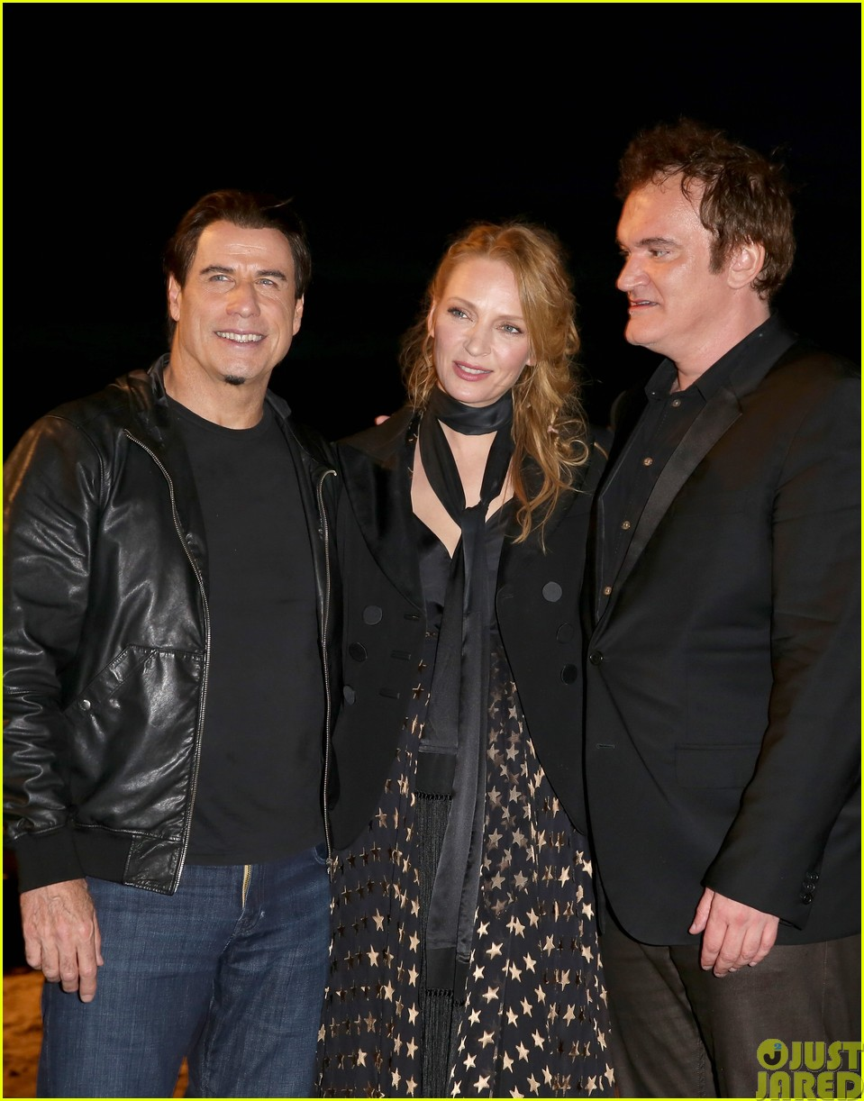 uma thurman john travolta and quentin tarantino reunite for pulp fiction screening at cannes063120831