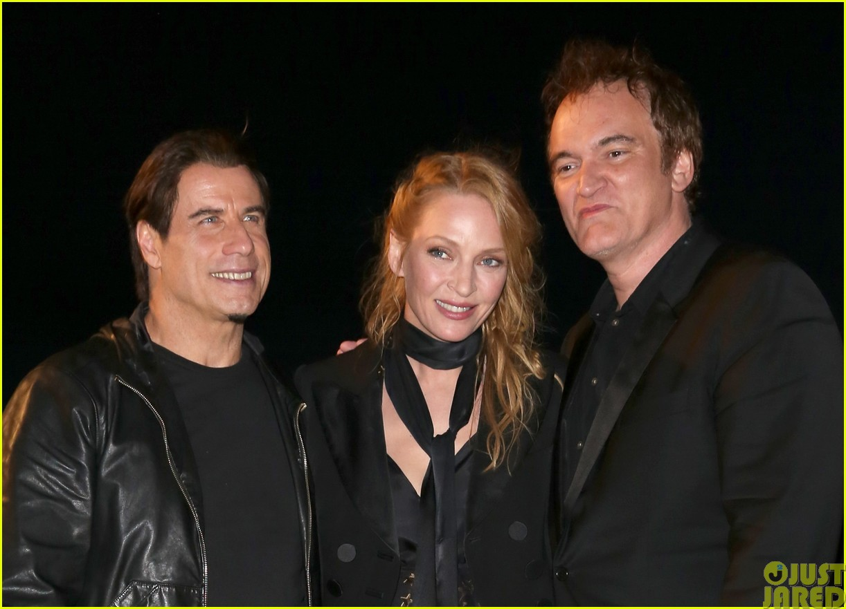 uma thurman john travolta and quentin tarantino reunite for pulp fiction screening at cannes083120833