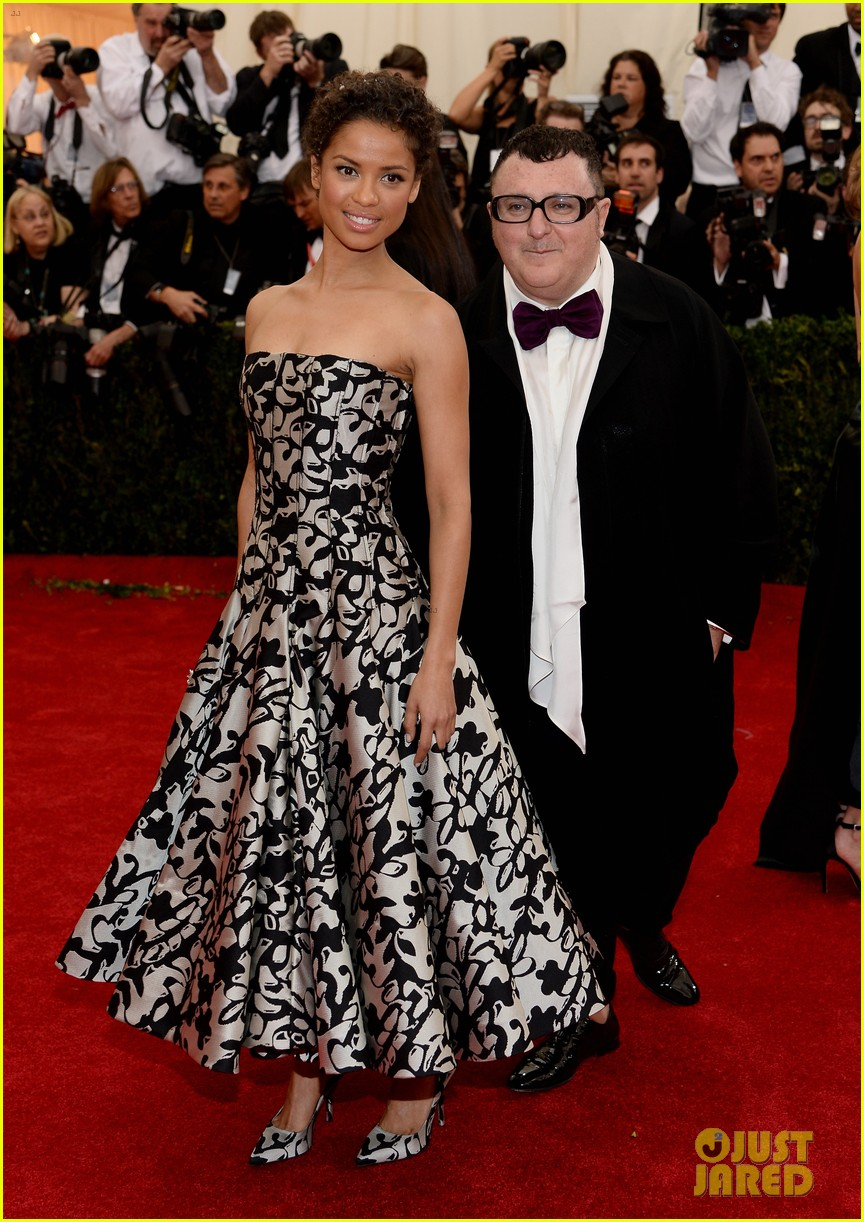 gugu mbatha raw sam reid met ball 2014 03