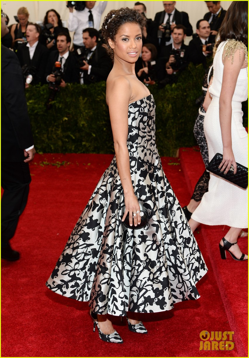 gugu mbatha raw sam reid met ball 2014 08