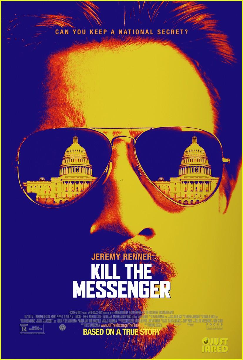 jeremy renner kill the messenger poster 053123399