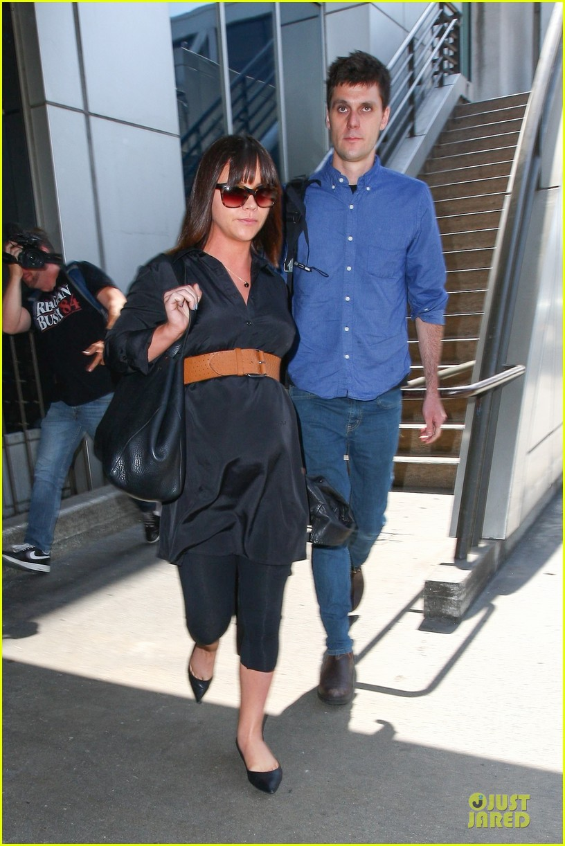 Christina Ricci and husband